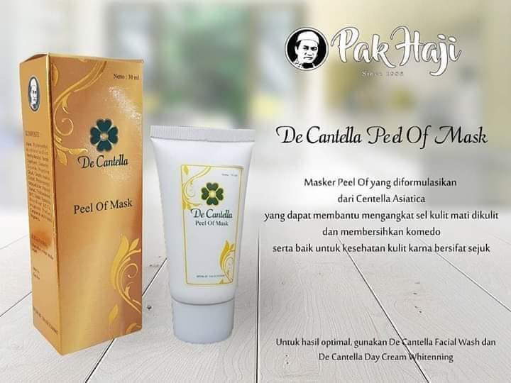 De Centella Mask HPA International
