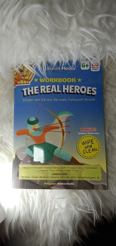 BUKU ANAK THE REAL HEROES